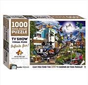 TV Shows Puntastic Puzzle   Merchandise