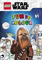 Lego Star Wars: Fun To Colour | Paperback Book