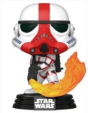 Star Wars: The Mandalorian - Incinerator Stormtrooper Pop! Vinyl | Pop Vinyl