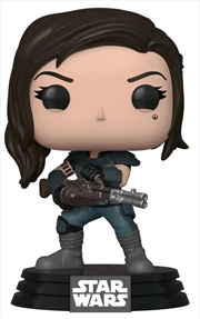 Star Wars: The Mandalorian - Cara Dune with Gun US Exclusive Pop! Vinyl [RS] | Pop Vinyl