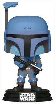 Star Wars: The Mandalorian - Death Watch Metallic US Exclusive Pop! Vinyl [RS] | Pop Vinyl