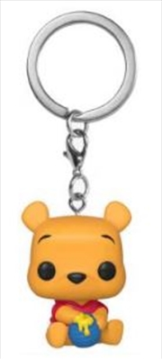 Winnie the Pooh - Winnie the Pooh US Exclusive Pocket Pop! Keychain [RS] | Pop Vinyl