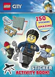 Lego City: Sticker Activity Book | Paperback Book