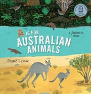 A Is For Australian Animals | Paperback Book