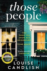 Those People : From the bestselling author of OUR HOUSE | Paperback Book