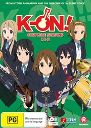 K-On!! - Season 1-2 | + Movie | DVD