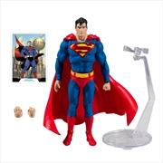 """Superman - Superman Action Comics 1000 7"""" Action Figure   Merchandise"""