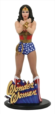 Wonder Woman - Lynda Carter PVC Statue | Merchandise
