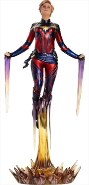 Avengers 4: Endgame - Captain Marvel 1:10 Scale Statue | Merchandise