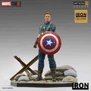 Captain America: The First Avenger - Captain America WWII 1:10 Scale Statue | Merchandise