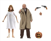 "Halloween 2 - Dr Loomis & Laurie Strode 8"" Action Figure 2-pack | Merchandise"