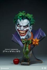 Batman - Joker Life-Size Bust | Merchandise