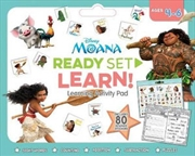 Disney Moana : Ready Set Learn! Activity Pad | Paperback Book