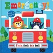 Emergency! Flashing Light Board Book | Board Book