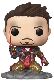 Avengers 4: Endgame - I Am Iron Man Glow Pop! Deluxe | Pop Vinyl