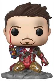 Avengers 4: Endgame - I Am Iron Man Glow Pop! Deluxe | Pop Vinyl