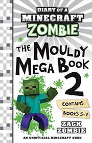 Diary of a Minecraft Zombie The Mouldy Mega Book 2 | Paperback Book