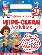 Wipe Clean Activities - Disney Pixar | Paperback Book