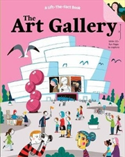 Art Gallery: A Lift The Fact Book | Board Book