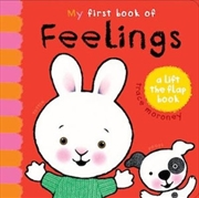 My First Book Of Feelings | Board Book