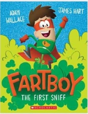 Fartboy #1: The First Sniff | Paperback Book