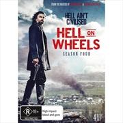 Hell On Wheels - Season 4 | DVD