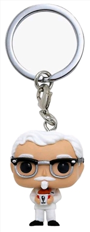 KFC - Colonel Sanders US Exclusive Pocket Pop! Keychain [RS] | Pop Vinyl