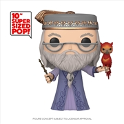 "Harry Potter - Dumbledore w/Fawkes 10"" Pop! Vinyl 