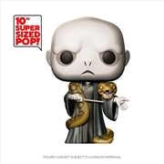 "Harry Potter - Voldemort w/Nagini 10"" Pop! Vinyl 