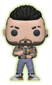 Cyberpunk 2077 - V-Male Glow US Exclusive Pop! Vinyl [RS] | Pop Vinyl