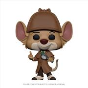 Great Mouse Detective - Basil Pop! Vinyl   Pop Vinyl