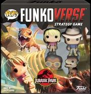 Funkoverse - Jurassic Park 100 4pk Board Game | Pop Vinyl