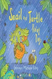 Snail And Turtle Rainy Days | Paperback Book