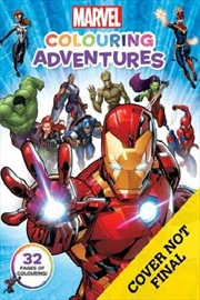 Marvel: Colouring Adventures | Paperback Book
