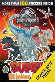Jurassic World: Sticker Activity Book | Paperback Book