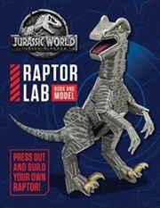 Jurassic World: Press Out and Play | Paperback Book