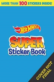 Hot Wheels: Super Sticker Book | Paperback Book