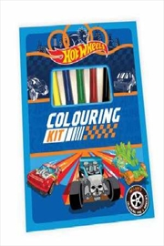 Hot Wheels: Colouring Kit | Paperback Book