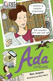 First Names: Ada Lovelace | Paperback Book