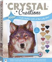 Crystal Creations: Wolf in Snow | Merchandise