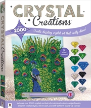 Crystal Creations: Proud Peacock | Merchandise