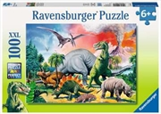 Among The Dinosaurs - Ravensburger 100 Piece Puzzle | Merchandise