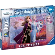 Frozen 2 Strong Sisters Glitter Puzzle | Merchandise