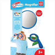 My First Magnifier 4 x Zoom Blue - Fandex | Toy