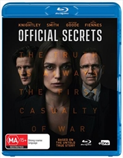 Official Secrets | Blu-ray