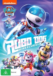 Paw Patrol - Robo Dog Rescues! | DVD