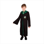 Slytherin Robe Costume (Size For Ages 9+ Years) | Apparel