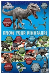 Jurassic World - Know Your Dinosaurs | Merchandise