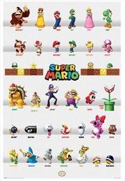 Super Mario - Characters Parade | Merchandise