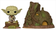 Star Wars - Yoda with Hut Pop! Town | Pop Vinyl